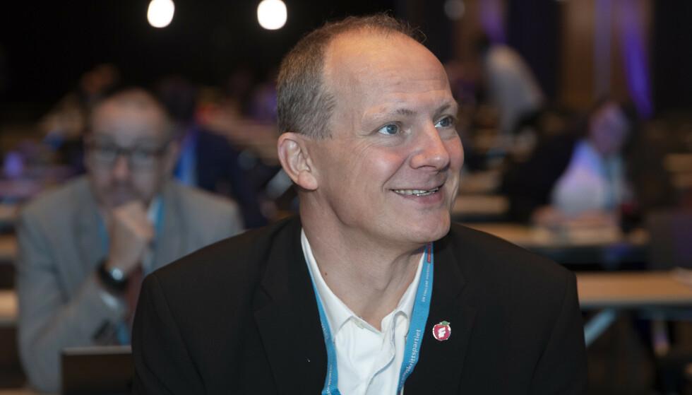 VIL LEDE OSLO FRP: Ketil Solvik-Olsen vil lede Oslo Frp. Foto: Berit Roald / NTB