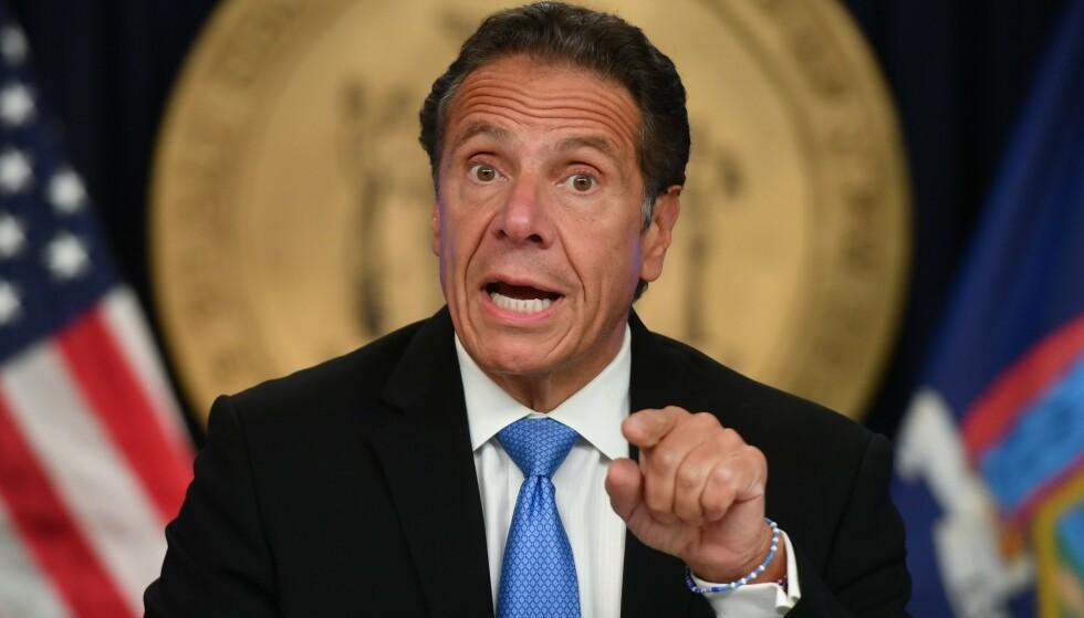 ANKLAGER: Flere kvinner anklager New Yorks guvernør, Andrew Cuomo, for seksuell trakassering. Foto: Erik Pendzich / Shutterstock / NTB