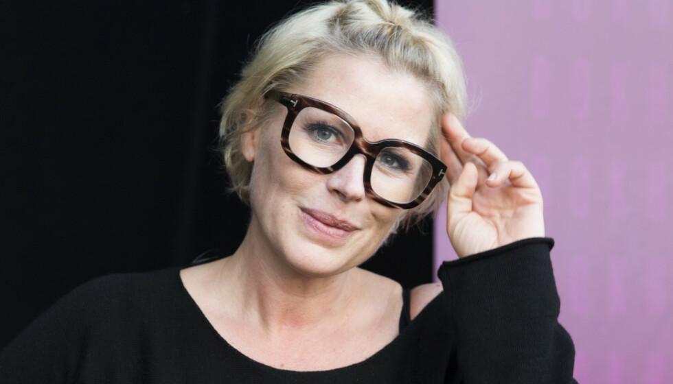 <strong>SNAKKER UT:</strong> Anne-Kat. Hærland åpnet opp om øyesykdommen i 2016. Nå forteller hun om tida etter og spørsmålet hun stadig blir stilt. Foto: Berit Roald / NTB