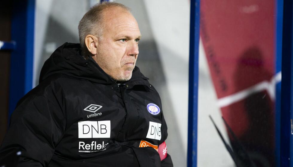 REAGERER: Vålerenga-trener Dag-Eilev Fagermo. Foto: Trond Reidar Teigen / NTB