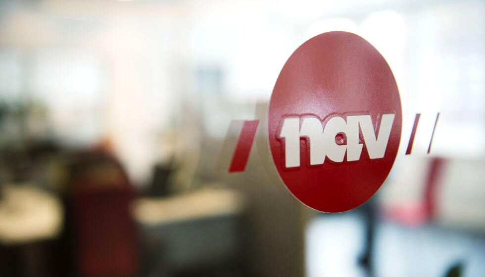 20150429: Nav, logo. Foto: Øistein Norum Monsen / Dagbladet