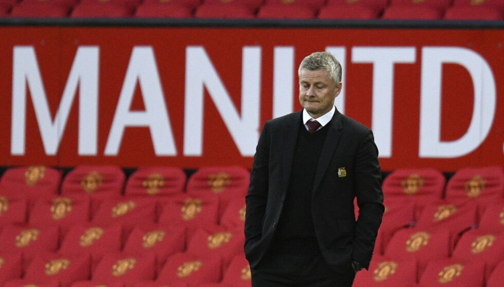 United må klare seg uten kaptein Harry Maguire tirsdag. Foto: Oli Scarff/ AP / NTB