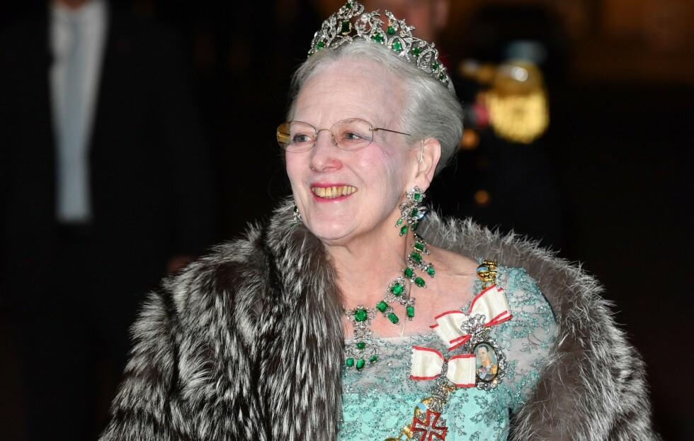 AVLYSER: Dronning Margrethe avlyser sin årlige nyttårstaffel og nyttårskur som følge av coronapandemien. Foto: NTB