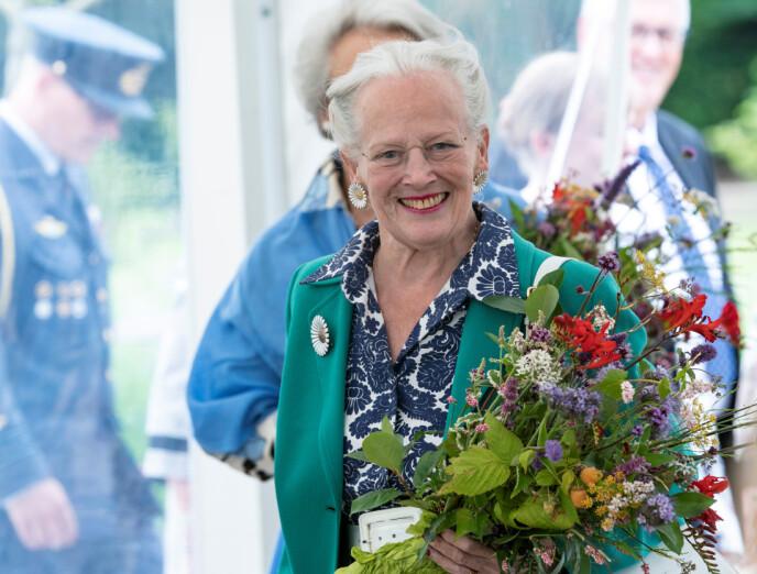 ENDRING I PLANENE: Dronning Margrethe skal ikke ha sin årlige nyttårstaffel og nyttårstur. Foto: Reuters / NTB