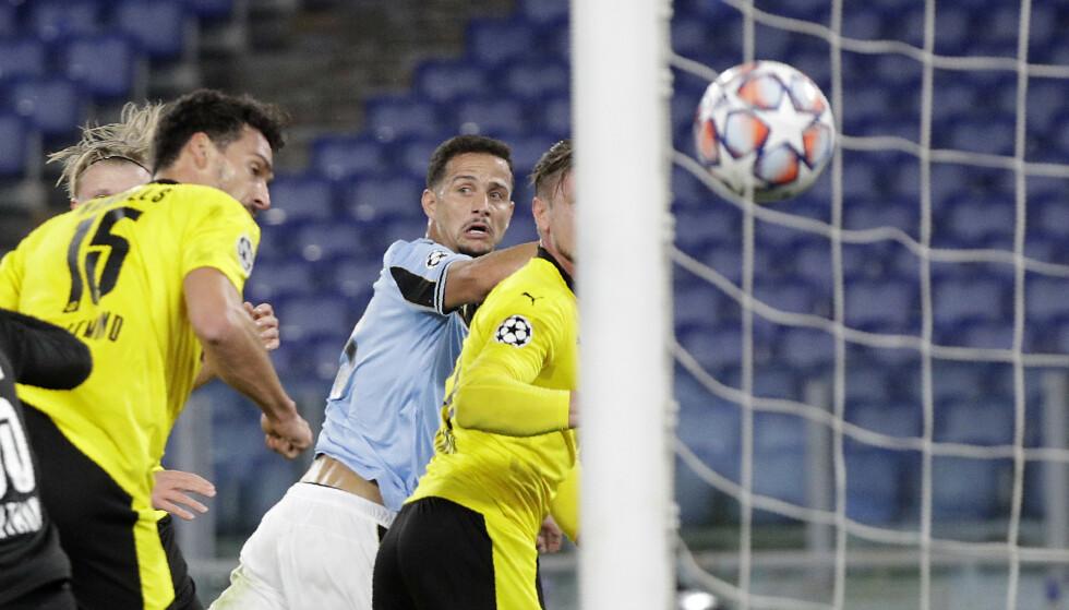 2-0: Luiz Felipe doblet ledelsen på en corner. Foto: NTB
