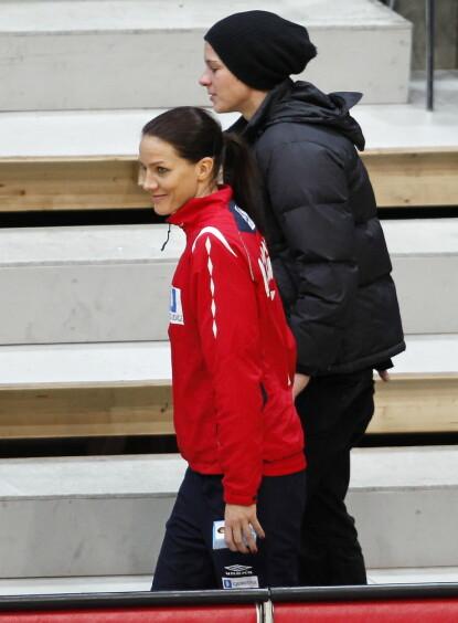 DEN GANG DA: Gro og Anja fikk en brå start på forholdet. Her i 2010. Foto: Gorm Kallestad / NTB