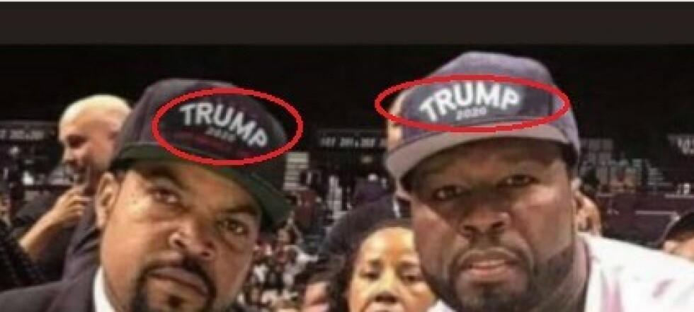 Trump-sønn delte falsk bilde