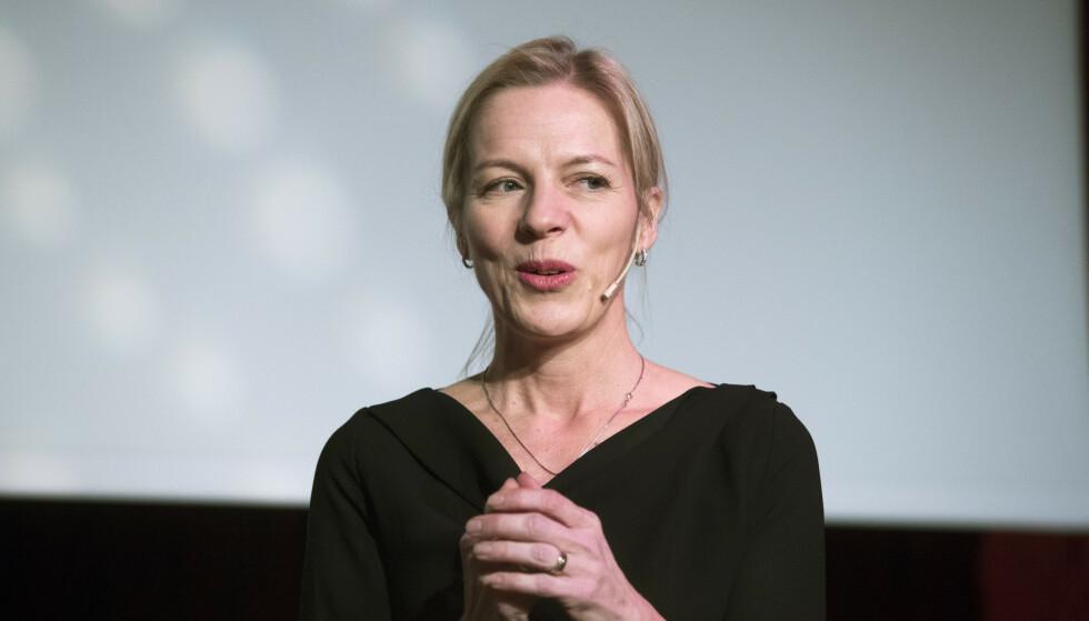 TID FOR LØNNSØKNING: Utdanningsdirektør Marte Gerhardsen har gitt seks direktører en betydelig lønnsøkning. Foto: Terje Bendiksby / NTB