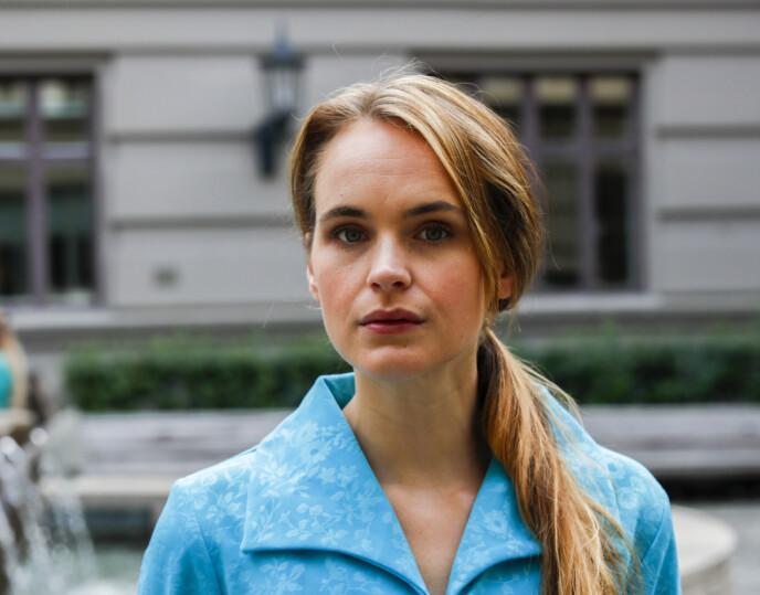 ANGRER: Linnéa Myhre innrømmer at hun gikk over streken. Foto: Vidar Ruud / NTB
