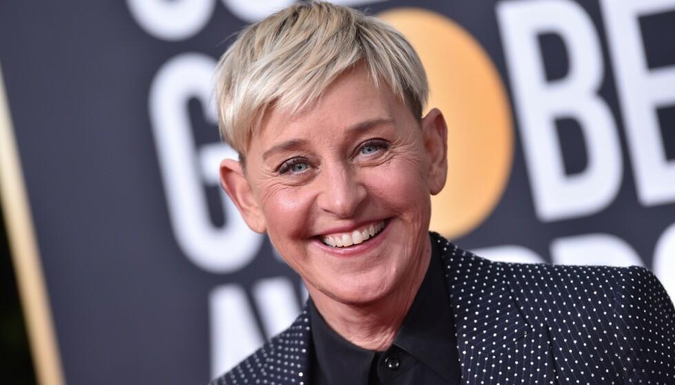 KJENTE LOKKER: Ellen DeGeneres har med åra blitt kjent for sin korte sveis - men den er nå historie. Foto: Shutterstock Editorial / NTB