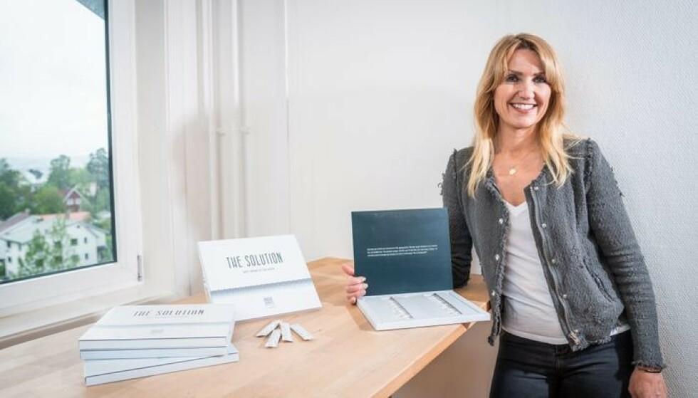 MANGE TAR KONTAKT: Gründer Cecilie Norstrøm forteller om stor pågang av interesserte fra utlandet.
