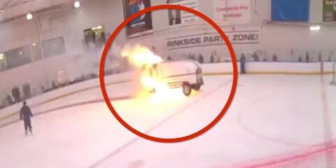 Image: Står i flammer - hylles for reaksjonen