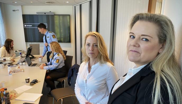 STØTTE: Marianne Weel Kreutz og Hilde Jæger er bistandsadvokater for de 78 eldre kvinnene som ble lurt. Foto: Øistein Norum Monsen / Dagbladet