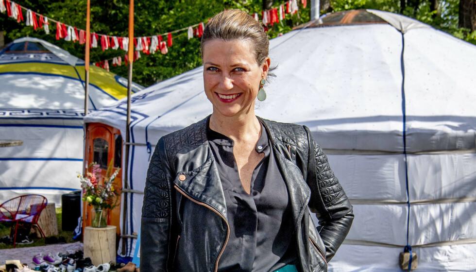DOKUSERIE: TV2 skal følge prinsesse Märtha Louise både privat og på jobb i ny dokuserie. Foto: Utrecht/NTB.