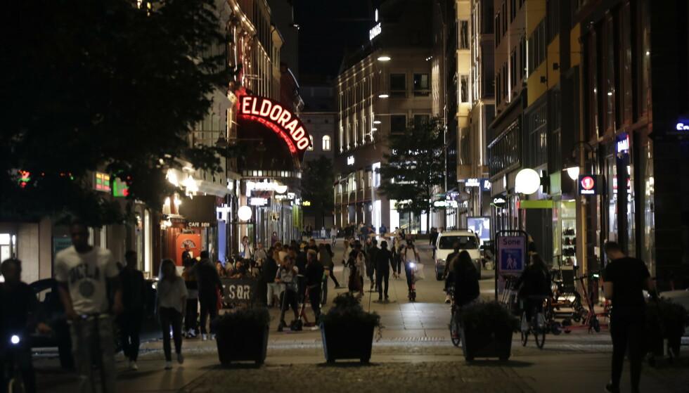 HØYT SMITTETALL: I hovedstaden har smitten økt kraftig de siste ukene, og det jobbes nå med å finne mer målrettede tiltak. Foto: Vidar Ruud / NTB