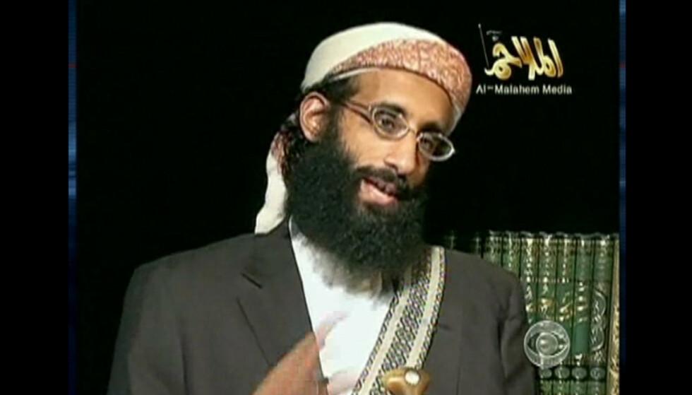 FIKK REKLAME: Al-Qaida-lederen Anwar al-Awlaki dukket opp på nettsidene til både Alnor og Islam Channel i samme periode. Foto: REX