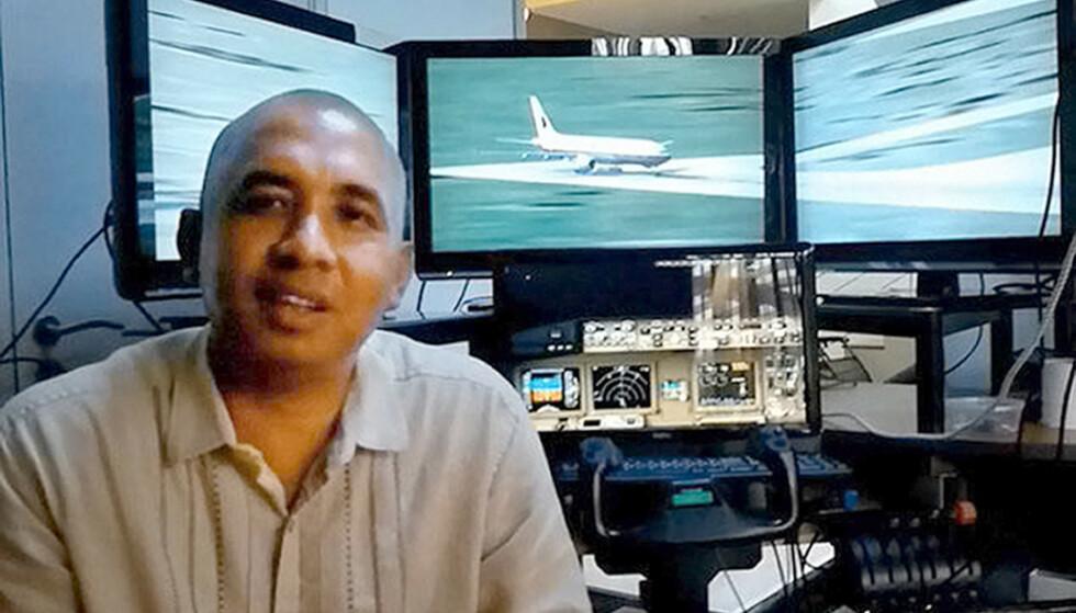PILOT: Zaharie Ahmad Shad var en av pilotene på flyvningen. En av teoriene som har versert, er at han styrtet flyet med vilje. Foto: Rex / Shutterstock / NTB