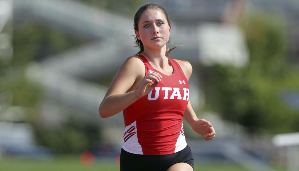 DREPT: I 2018 ble Lauren McCluskey drept av sin ekskjæreste. Foto: Steve C. Wilson / University of Utah via AP / NTB