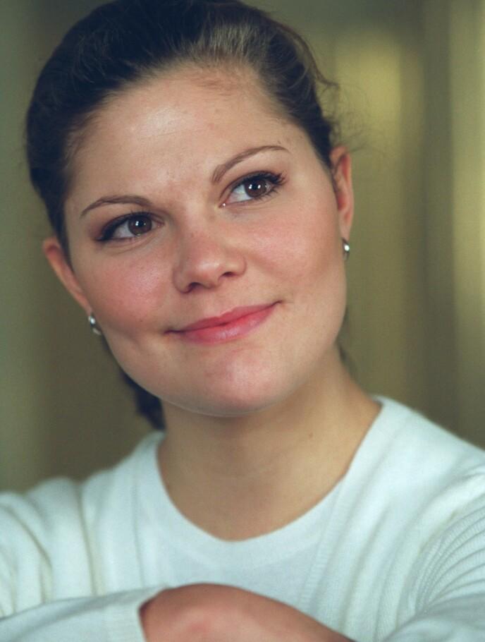 UNG: Her er kronprinsessa avbildet i 1999, to år etter at hun reiste for å skaffe hjelp i USA. Foto: Leif R Jansson/NTB