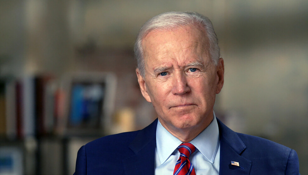 INNRØMMER: Presidentvalget nærmer seg med stormskritt i USA. Nå innrømmer Demokratenes kandidat Joe Biden at han frykter Donald Trumps taktikk. Foto: CBS News / 60 MINUTES / AP / NTB