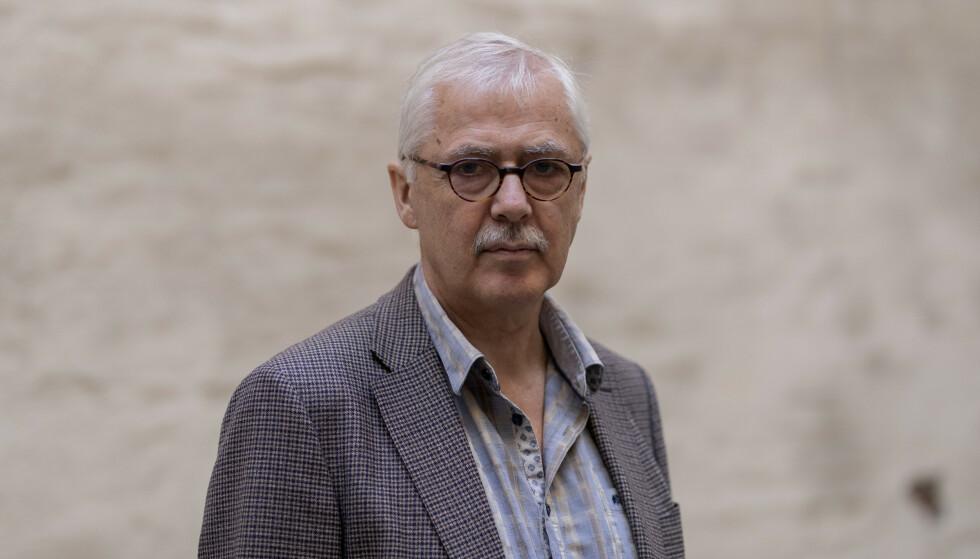 DIKTERENS KALL: Lars Amund Vaages egen bestefar var dikter og en viktig inspirasjonskilde for den nye romanen. Foto: NTB Scanpix