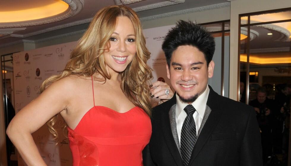 DØD: Prins Azim av Brunei gikk bort lørdag forrige uke, bare 38 år gammel. Her fra et arrangement i 2011 med Mariah Carey. Foro: Richard Young / Rex / NTB