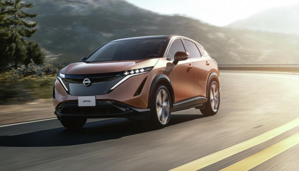 SPENNENDE SUV-ER: Familie-SUVen Nissan Araya, superbillige Dacia Springer og ikke minst praktiske Tesla Model Y, leder an i kampen om elbil-kundene i 2021.