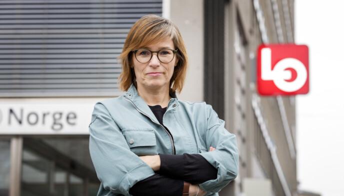 KANDIDAT: Trine Lise Sundnes, leder av internasjonal avdeling i LO, stiller til valg som stortingsrepresentant for Oslo Ap. Foto: Gorm Kallestad / NTB