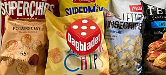 Test av sunnere chips: – Ikke la deg lure av disse ordene