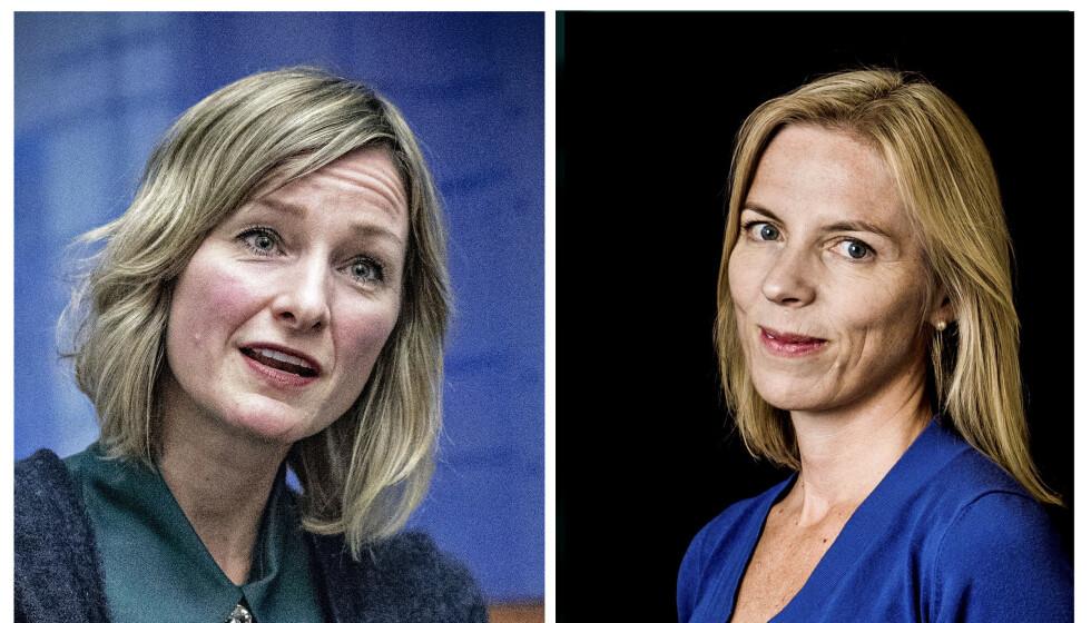 MILLIONCOACHING: De 28 direktørene i Utdanningsetaten ledes av Marte Gerhardsen (til høyre), og har fått coaching til 2,5 millioner de siste 15 månedene. SV-byråd Inga Marte Thorkildsen er politisk ansvarlig for etaten.