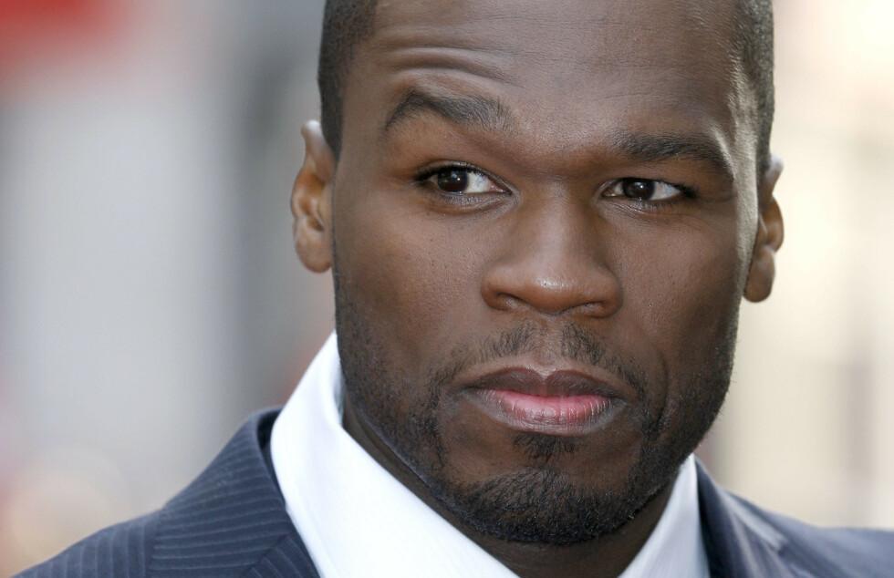 SNUR: Rapperen 50 Cent erklærte først sin støtte til USAs president - men snudde etter innspill fra en gammel venn. Foto: Rex / NTB