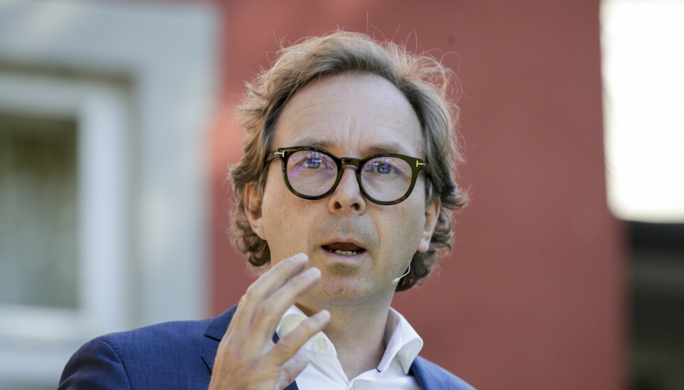 Forlegger Mads Nygaard. Foto: Vidar Ruud / NTB