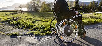 Fartsgrensen for rullestoler heves
