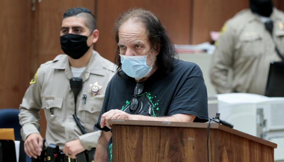 NEKTER STRAFFSKYLD: Pornostjerna Ron Jeremy er siktet for ytterligere sju seksuelle overgrep. Robert Gauthier / REUTERS / NTB