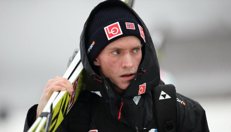 SKADEPLAGET: Anders Fannemel. Foto: Geir Olsen / NTB