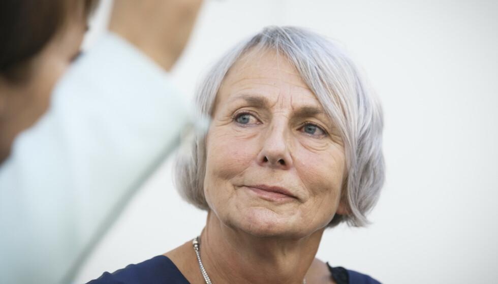 SKUFFET: Anne Finborud, leder for Skolenes landsforbund, er skuffet over lederlønningene i Utdanningstetaten. Foto: Heiko Junge / NTB