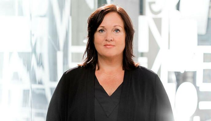 KRITISK: Aina Skjefstad Andersen, leder Utdanningsforbundet Oslo, er kritisk til Utdanningetatens pengebruk. Foto: Tom Egil Jensen / Utdanningsforbundet