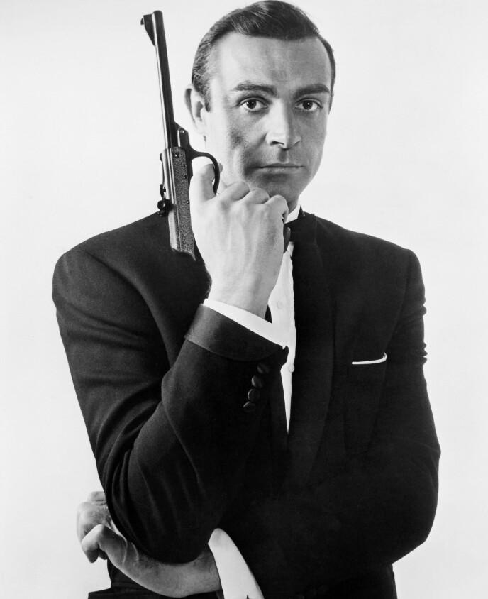 BOND: Sean Connery er kanskje aller best kjent for rollen som spionen James Bond. Foto: Granger/REX/NTB