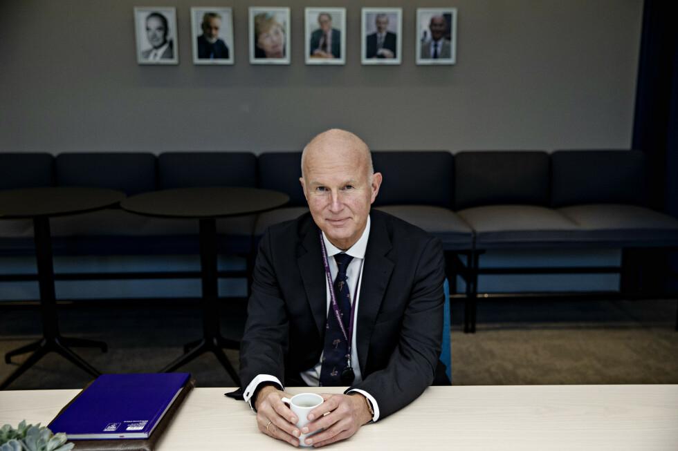 NYE TILTAK: Helsedirektør Bjørn Guldvog spilte en sentral rolle da Norges nye nasjonale tiltak ble utformet. Foto: Nina Hansen / Dagbladet