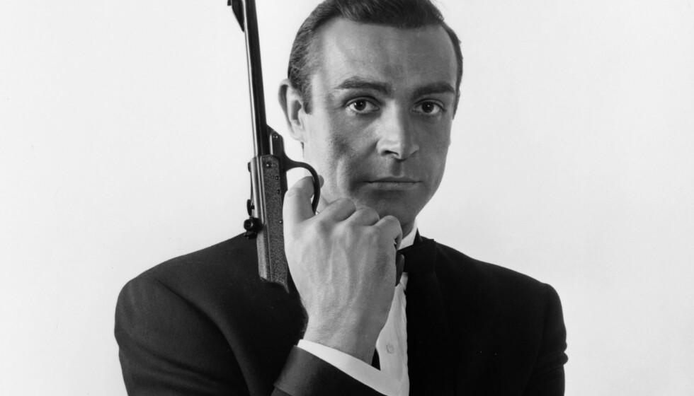 VAR IKKE BERØMT: Sean Connery var forholdsvis ukjent da han danket ut Richard Burton og Cary Grant i konkurransen om å spille James Bond. Rollen gjorde ham til den mannen andre menn helst ville være, ifølge kritiker Pauline Kael. Foto: Shutterstock