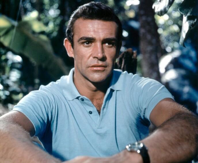 IKON: Sean Connery, her fra James Bond-filmen «Dr. No» fra 1962. Foto: NTB