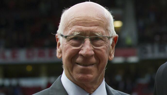 HAR FÅTT DEMENS: Sir Bobby Charlton. Foto: NTB