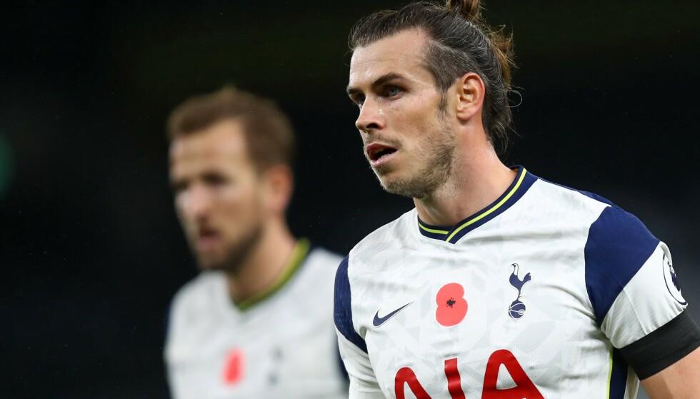 SCORET: Gareth Bale satte sitt første Tottenham-mål etter returen. Foto: Julian Finney / POOL / AFP / NTB