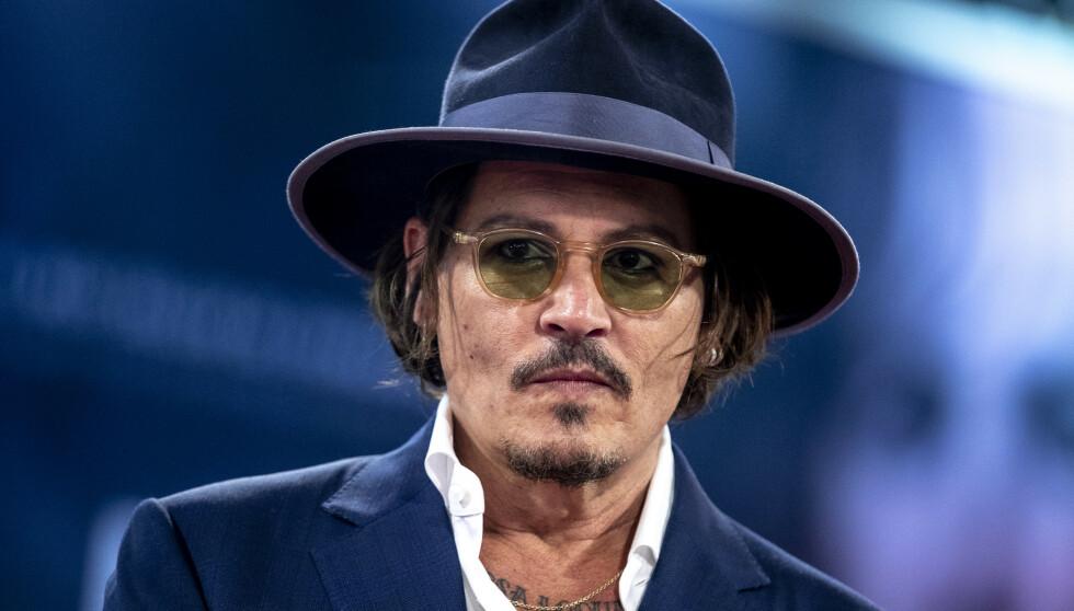 NEDERLAG: Hollywood-stjerna Johnny Depp tapte i retten mandag formiddag. Foto: Splash News / NTB