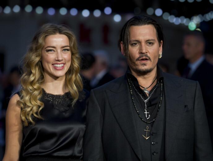 MØTES IGJEN: Neste år skal eksparet Johnny Depp og Amber Heard møtes i retten i anledning sin egen rettssak. Foto: Justin Tallis / AFP