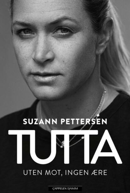 BOKA: Suzann Pettersens nye selvbiografi som kom ut på fredag. Foto: Cappelen Damm