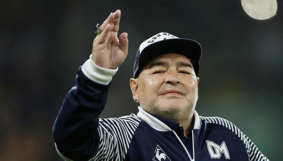60 ÅR: Fotballegenden fylte 60 år i forrige uke.Foto: Reuters / Agustin Marcarin / NTB
