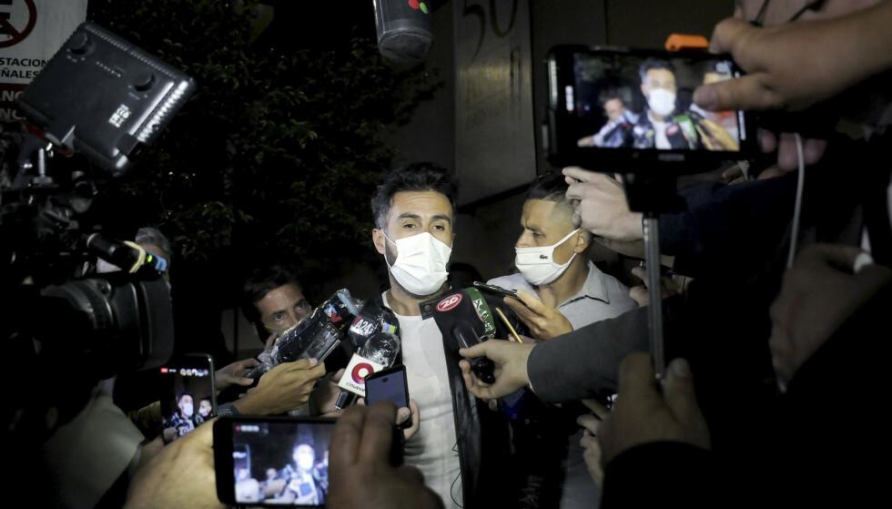 MARADONAS LEGE: Leopoldo Luque. Foto: Eva Cabrera / TELAM / AFP / NTB Scanpix