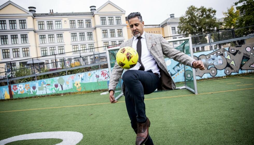 TRYGG: Abid Raja føler seg trygge på at de norske forbundene vil gjennomføre et fluor-forbud så raskt som mulig. Foto: Christian Roth Christensen / Dagbladet