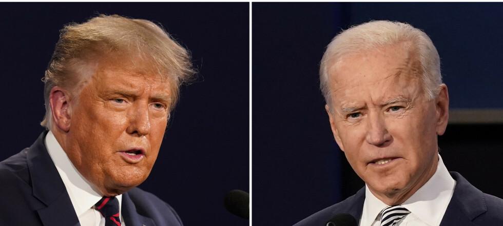 Biden sliter - Trump er favoritt